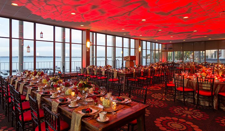 Host your wedding ceremony overlooking beautiful Lake Mendota
